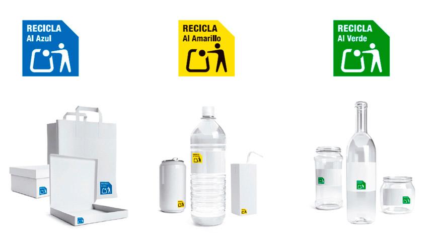 Nuevo símbolo de reciclaje